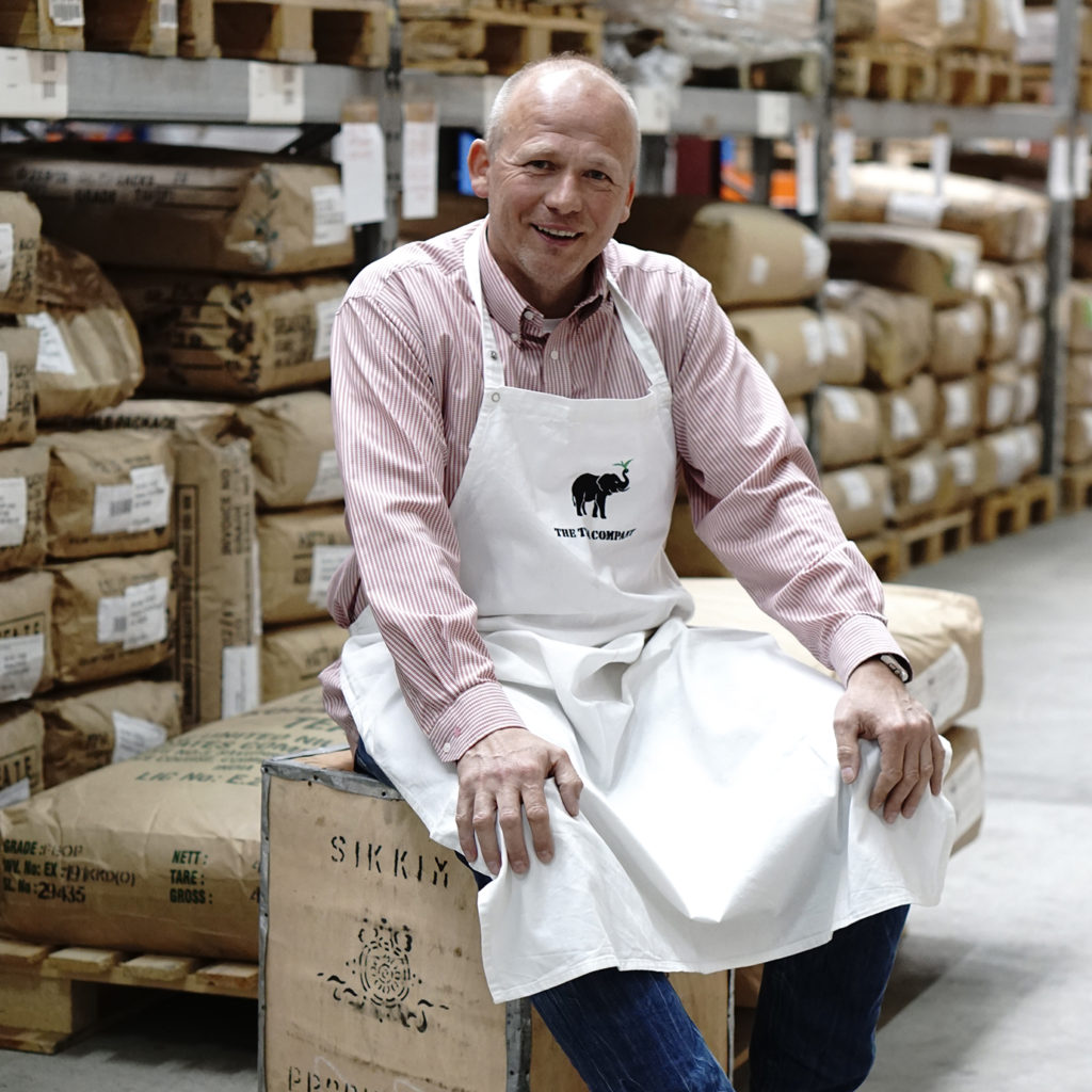The Tea Company, Frank Pauls, Tee-Profi, Teegroßhandel mit langjähriger Erfahrung + Expertise